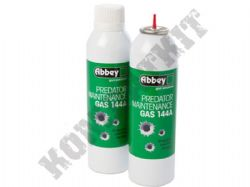 Abbey Predator Maintenance Gas 144A 270ml for Gas Powered Airsoft BB Guns, Rifles & Magazines